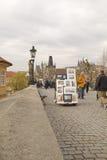 Charles Bridge,Prague Royalty Free Stock Photo