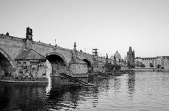 Charles Bridge of Prague Stock Images