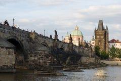 Charles bridge, Prague Royalty Free Stock Photos