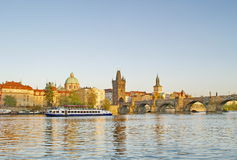 Charles Bridge of Prague Royalty Free Stock Photos
