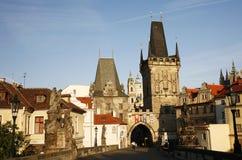 Charles Bridge in Prague Royalty Free Stock Images