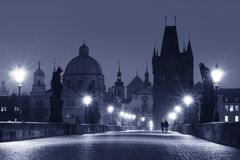 Charles Bridge (Prague) Royalty Free Stock Photo