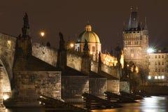 Charles Bridge (Prague) Royalty Free Stock Photo