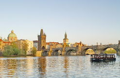 Charles Bridge of Prague Royalty Free Stock Images
