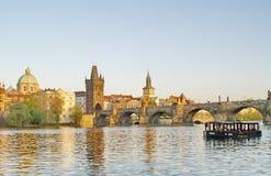 Charles Bridge of Prague Royalty Free Stock Images