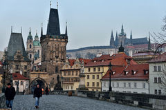 Free Charles Bridge, Prague Stock Photos - 56940533