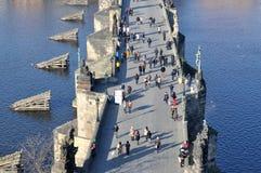 Charles Bridge, Prague Images libres de droits