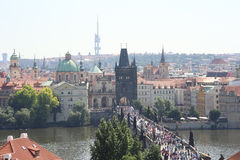 The Charles Bridge Stock Images