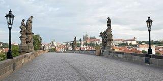 Charles Bridge, Prague Photos libres de droits