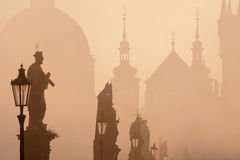 Charles bridge prague Royalty Free Stock Images