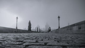 Charles Bridge, Prague. Stock Photo
