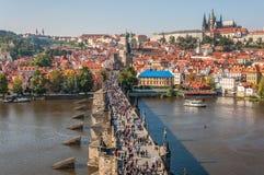 Charles bridge, Prague Stock Photography