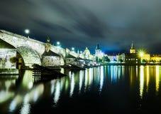 Charles bridge, Prague, Czech Republic.  Stock Photo