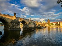 Charles bridge, Prague, Czech Republic.  Royalty Free Stock Photo
