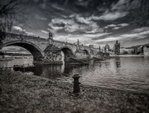 Charles Bridge, Prague. Czech Republic Royalty Free Stock Photo