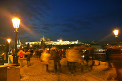 Charles bridge, Prague, Czech republic Royalty Free Stock Image
