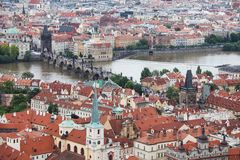 Charles bridge, Prague, Czech Republic,, Stock Image