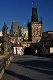 Charles bridge in Prague, Czech republic Royalty Free Stock Image