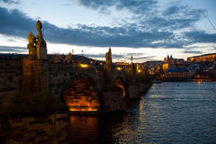 The Charles Bridge, Prague, Czech Republic Royalty Free Stock Photography
