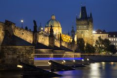 Charles bridge in Prague Stock Photography