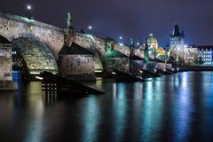 Charles bridge - prague Royalty Free Stock Photo