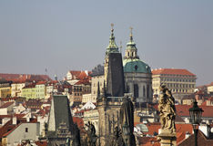 Charles Bridge in Prague. Czech Republic Royalty Free Stock Photo