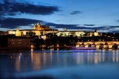 Charles Bridge in Prague, Royalty Free Stock Image