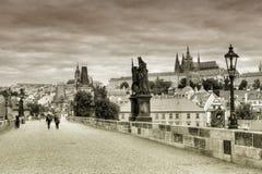 Charles Bridge in Prague, Stock Photos