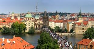 Charles Bridge in Prague, Stock Photography