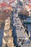 The Charles Bridge, Prague Royalty Free Stock Photo