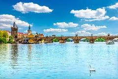 Charles Bridge, Prague Royalty Free Stock Photography