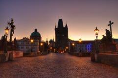 Charles Bridge in Prague Czech Republic royalty free stock photo