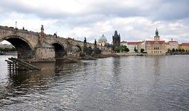 Charles Bridge and Prague, Czech Republic, Europe Royalty Free Stock Photo