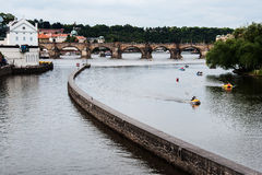 The Charles bridge in Prague Royalty Free Stock Photography