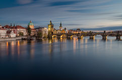 Charles bridge, Prague, Czech Republic Stock Photos