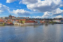 Charles Bridge in Prague, Czech Republic stock image