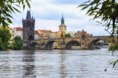 Charles bridge. Prague, Czech Republic. Royalty Free Stock Photo