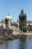 Charles bridge in Prague, Czech republic Stock Photography