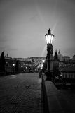 Charles Bridge in Prague at dawn Czech Republic Stock Photography