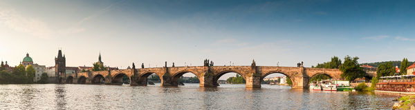 Charles Bridge, Prague Royalty Free Stock Photo