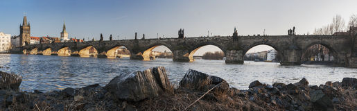 Charles Bridge Stock Photography