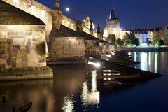 Charles Bridge in Prague. Stock Photos
