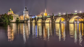 Charles bridge in Prague Stock Photos