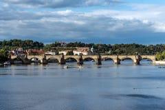Charles Bridge Prague Praha Royalty Free Stock Images
