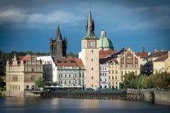 Charles Bridge Prague Praha Stock Image