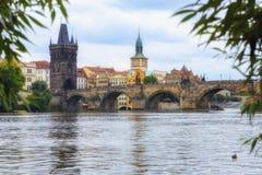Charles Bridge Prague, République Tchèque Photo libre de droits