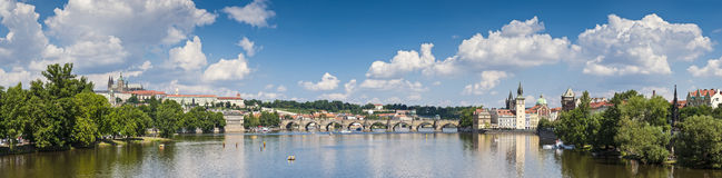 Charles Bridge, Prague in Summer Stock Image