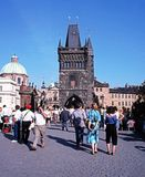 Charles Bridge, Prague. Stock Image
