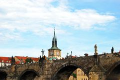 Charles Bridge, Prague. Royalty Free Stock Photo