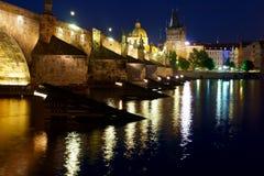 Charles Bridge in Prague. Stock Image
